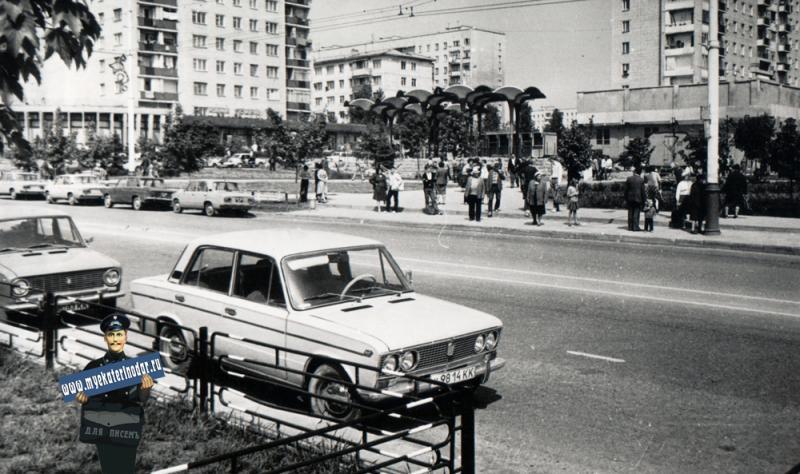 "Краснодар. Кафе ""Лотос"", 1986 год"