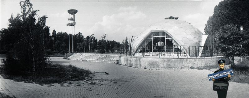 "Краснодар. Кафе ""Олимпия"", 1984 год"