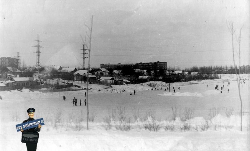 Краснодар. Карасун. Вид с ул. Мачуги, 1965