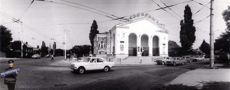 """Краснодар. Кинотеатр """"Северный"""". 1988 год"""