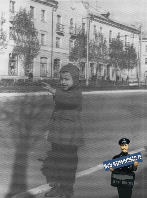 Краснодар. На улице Захарова, конец 1950-х