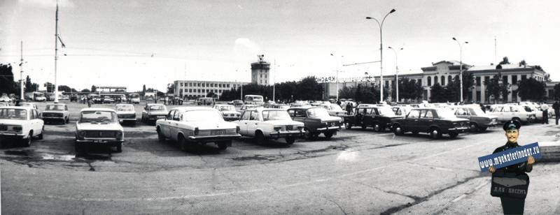 Краснодар. Краснодарский аэропорт, 1985 год