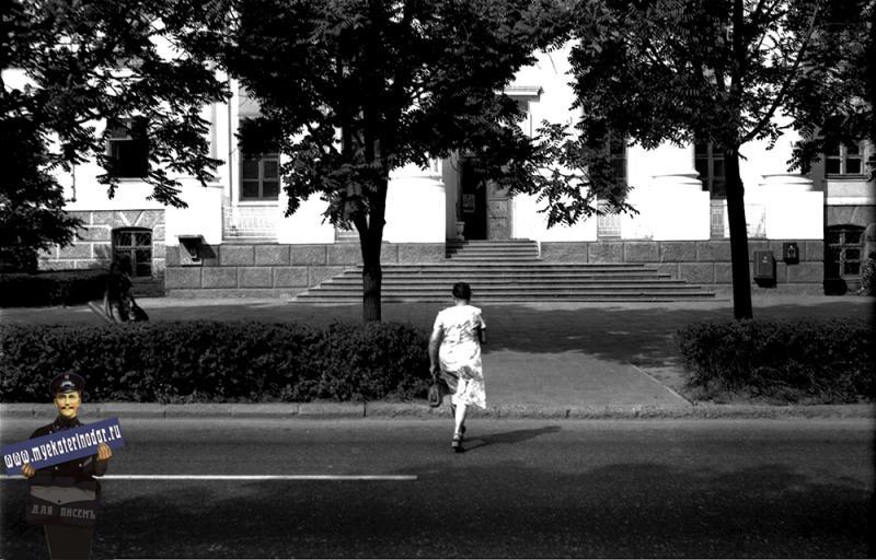 Краснодар. Краснодарский станкостроительный техникум. 1978 год