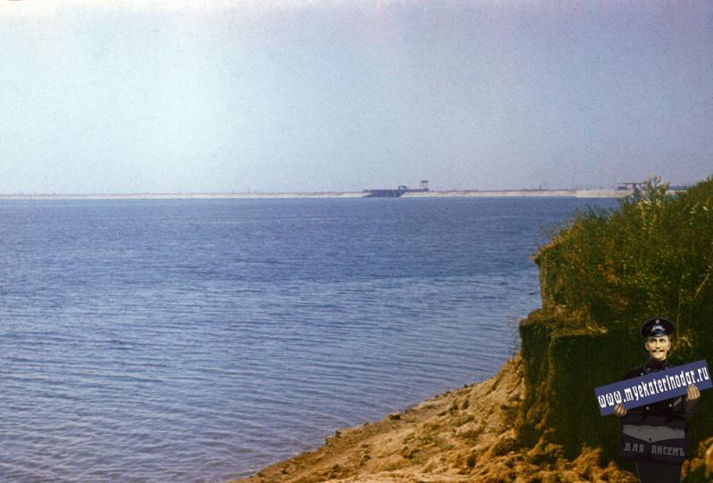 Краснодар. Краснодарское водохранилище. Конец 1970-х