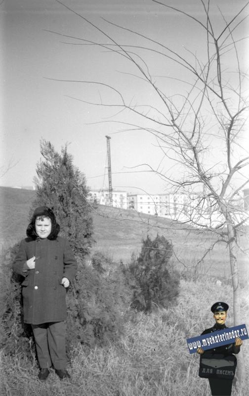 Краснодар. Курган на Красной, 1964 год.