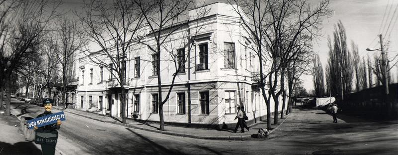 Краснодар. Улица Леваневского, 4. 1989 год.