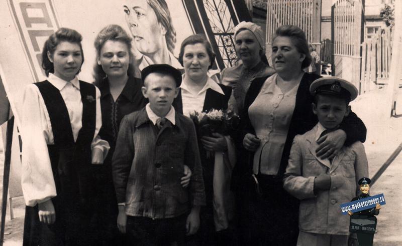 Краснодар. На демонстрации 1 мая 1951 года