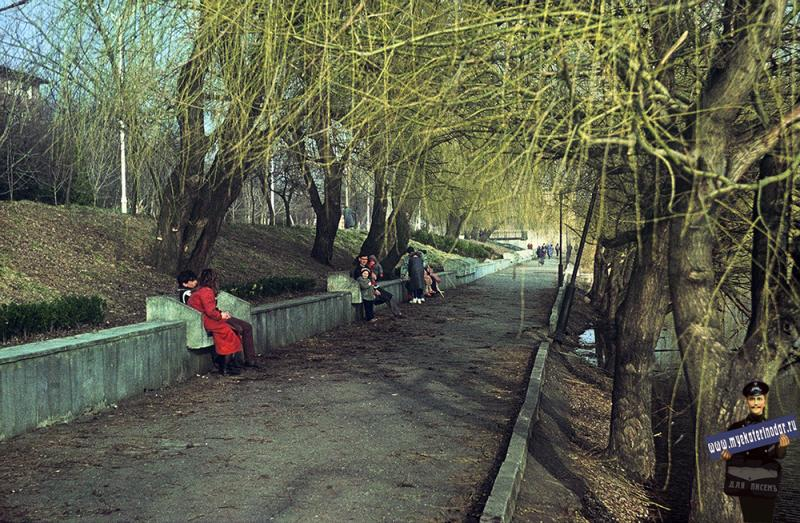 Краснодар. На Карасуне, 1987 год