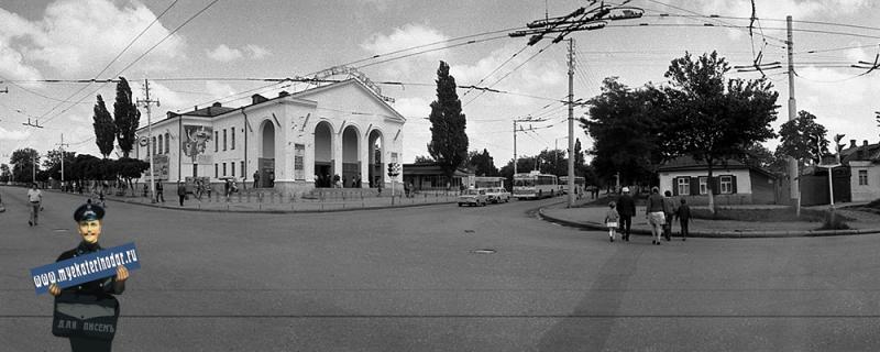 Краснодар. На перекрестке улиц Северной и Тургенева, конец 70-х