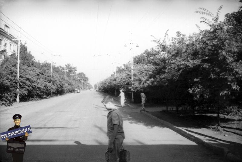 Краснодар. На ул. Северной, начало 1960-х