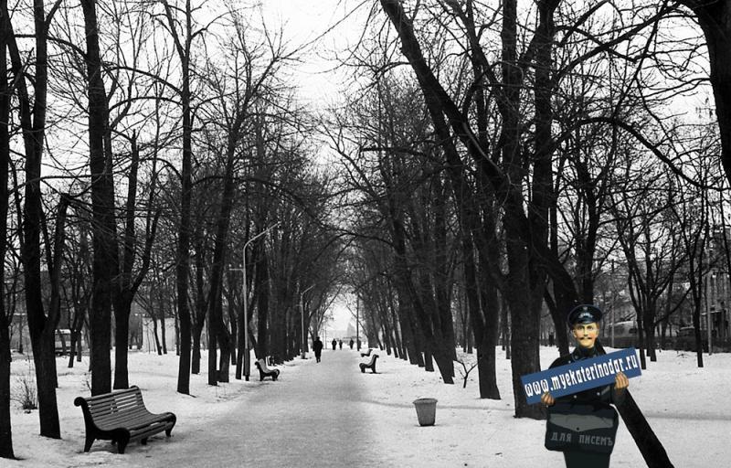Краснодар. На улице Красной. 1963 год