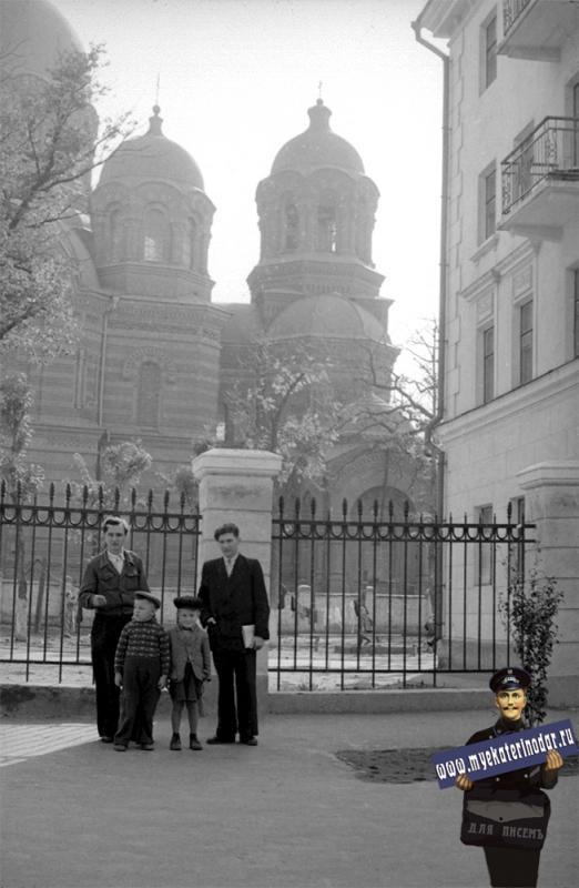 Краснодар. На улице Седина, начало 1960-х