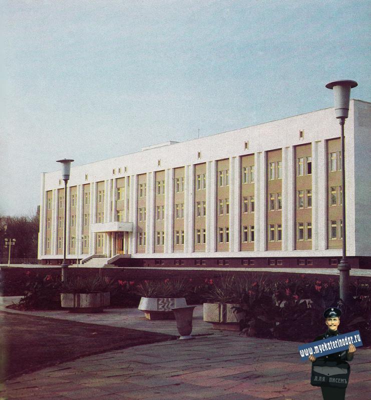 Краснодар. Общежитие на 110 мест по ул. Тельмана.