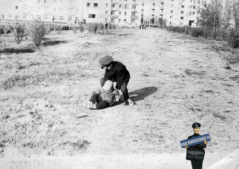 Краснодар. Офицерская улица, 1963 год