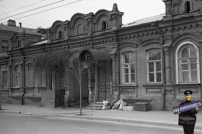 Краснодар. Октябрьская 113. 1980 год.