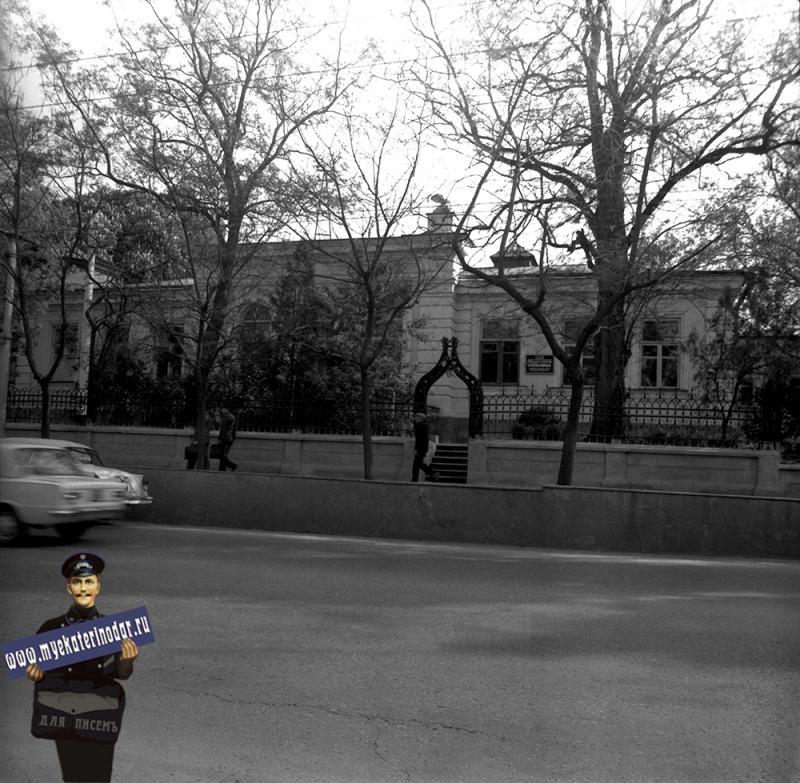 Краснодар. Отделенческая железнодорожная больница, 1978 год.