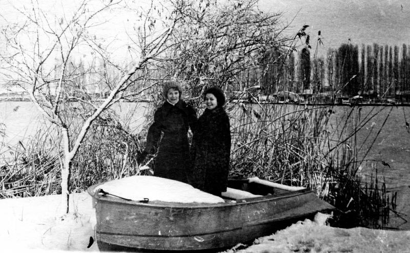 Краснодар. Парк им. 40-летия Октября. Лодочная станция, 1978 год