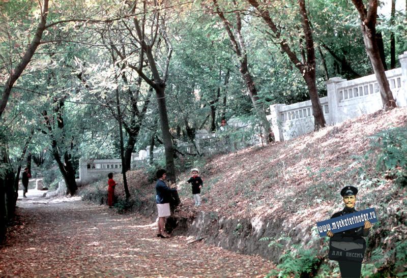 Краснодар. Парк им. Горького, 1971 год