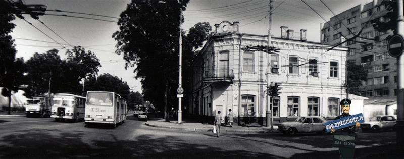 Краснодар. Перекресток улиц Северной и Красноармейской, 1988 год