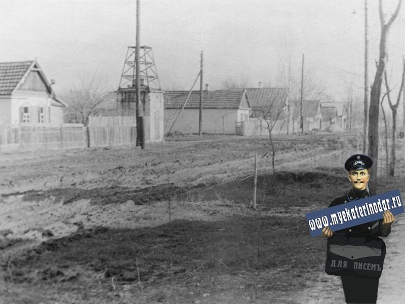 Краснодар. Пересечение улиц Кузнечной и Сидоренко, конец 1950-х
