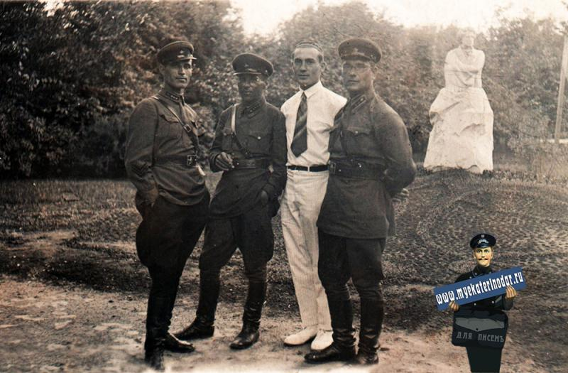 Краснодар. В парке Горького, 1937 год