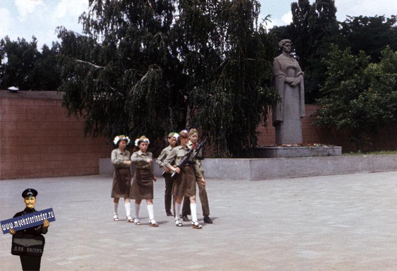 Краснодар. Пост №1. 1987 год