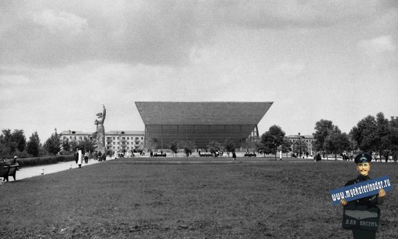 """Краснодар. Широкоформатный кинотеатр """"Аврора"""", перед открытием. Фото 2"""