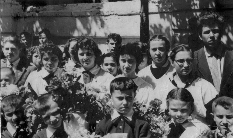 Краснодар. Школа № 8, Последний звонок, 24.05.1960