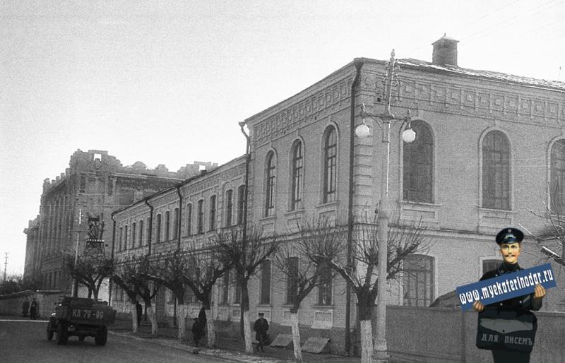 Краснодар. Средняя школа № 2 на улице Ленина.