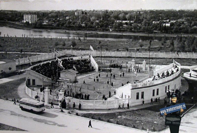 """Краснодар. Стадион """"Кубань"""", малая арена, 22 мая 1964 год."""