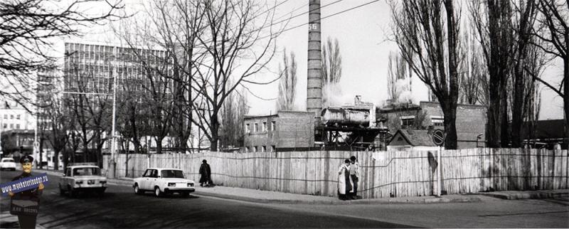 Краснодар. Стройплощадка завода им. Калинина. 1989 год