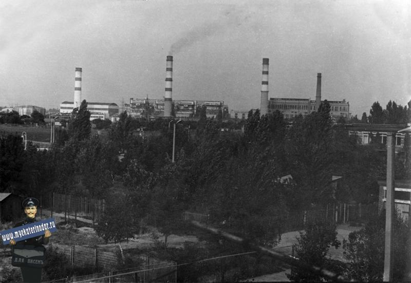 Краснодар. ТЭЦ, 1977 год