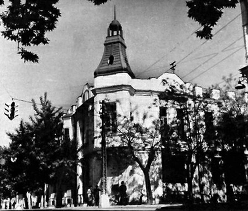 Краснодар. Угол улиц Красноармейской и Чапаева, 1965 год