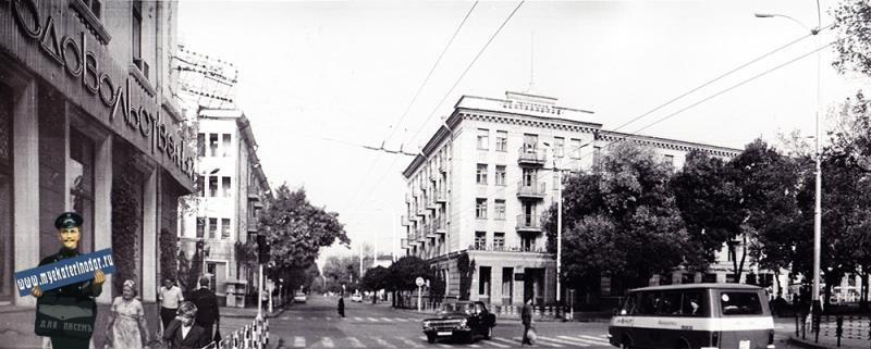 Краснодар. Угол улиц Красной и Мира