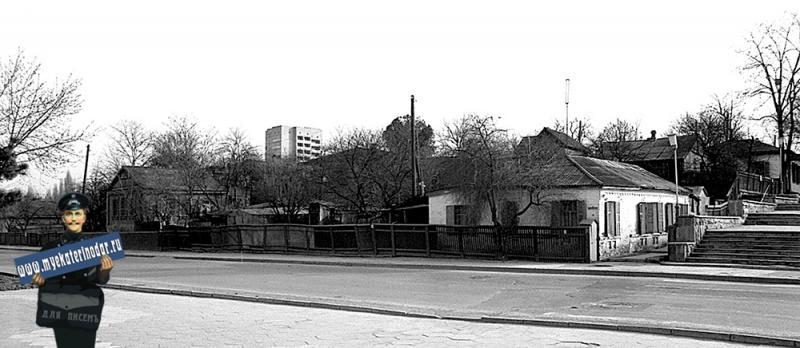 Краснодар. Угол улиц Кубано-Набережной и Тельмана. 12.02.1983 г.