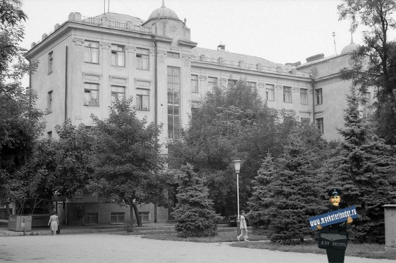 Краснодар. ул. Октябрьская, 25. 1986 год