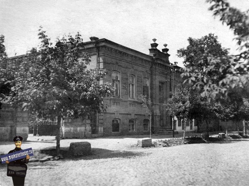 Краснодар. ул. Седина, 1930-е годы