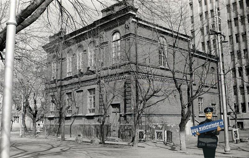 Краснодар. ул.Шаумяна, 40. 1987 год
