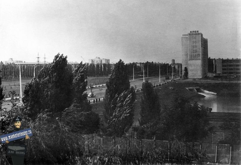 Краснодар. Старокубанская улица, 1977 год