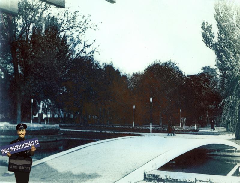Краснодар. Ул. Тельмана, 1980-е годы