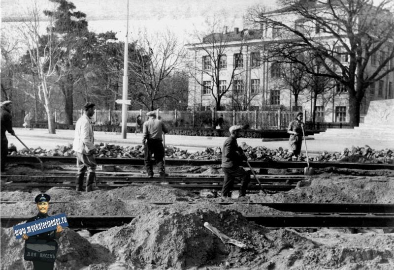 Краснодар. Ул. Тельмана / Захарова, 1965 год