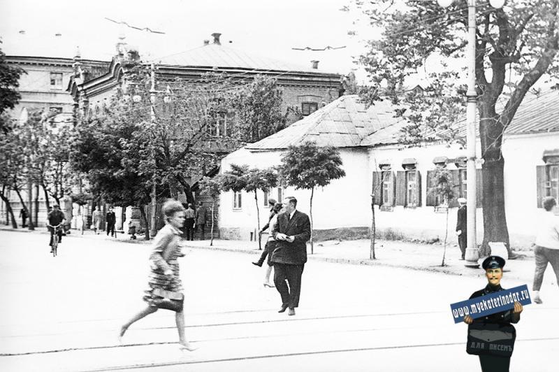 Краснодар. Улица Мира от Красноармейской до Коммунаров