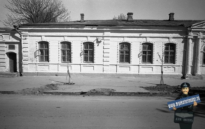 Краснодар. Улица Октябрьская № 14, 1977 год.