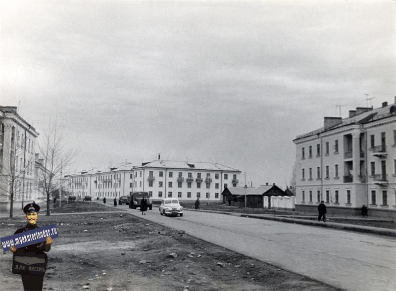 Краснодар. Улица Светлая, вид на запад от улицы Сталина