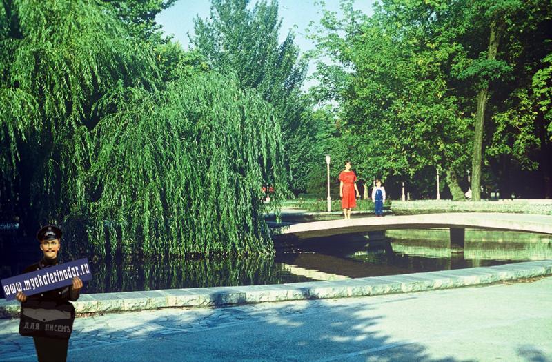 Краснодар. В сквере на улице Тельмана, 1987 год