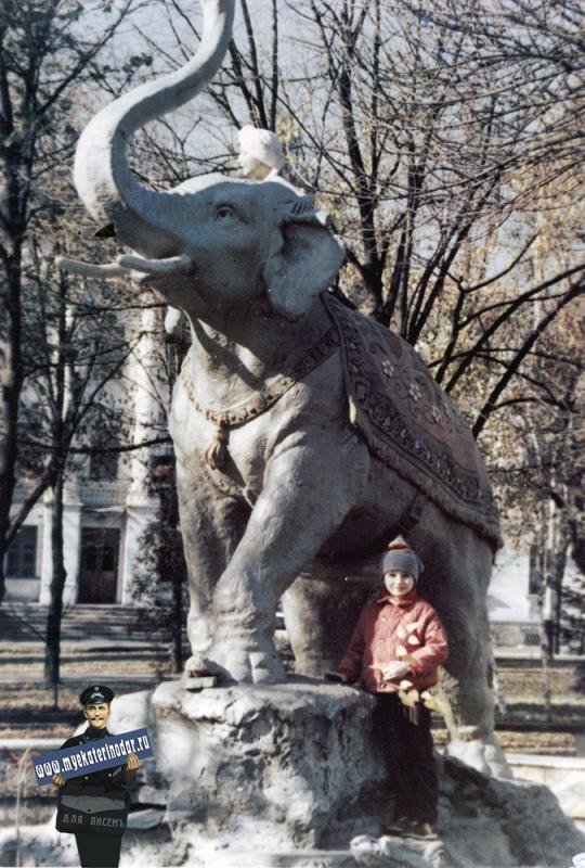 Краснодар. В сквере Дужбы, конец 1980-х