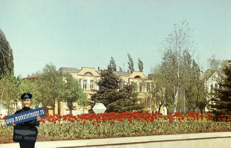 Краснодар. Весна на улице Советской