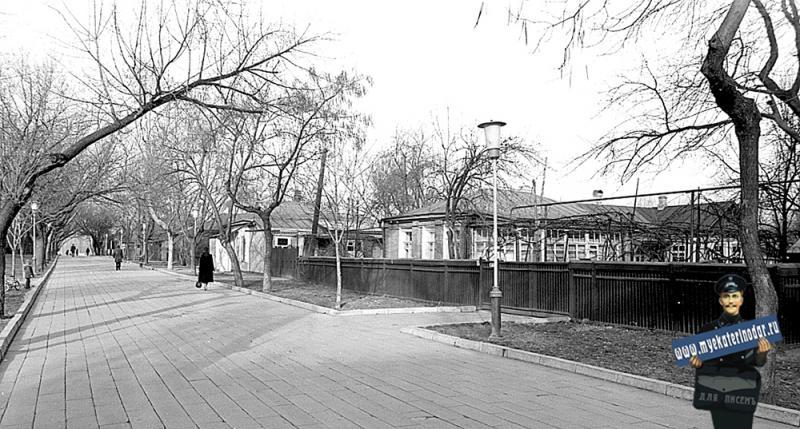 Краснодар. Вид улицы Тельмана. 12.02.1983 г.