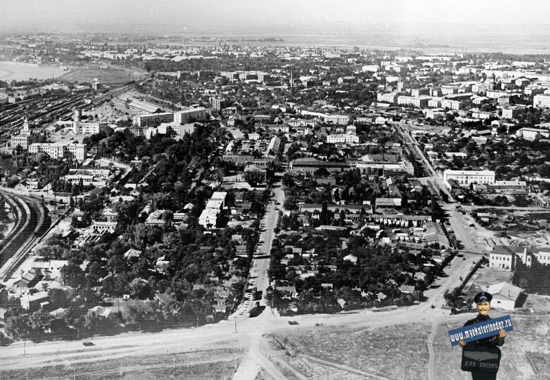 Краснодар. Вид южной части города от Карасунов