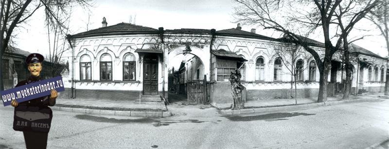 Краснодар. Янковского, 49, 1989 год.